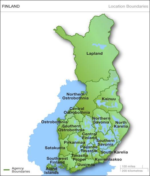 Finlandia regiones