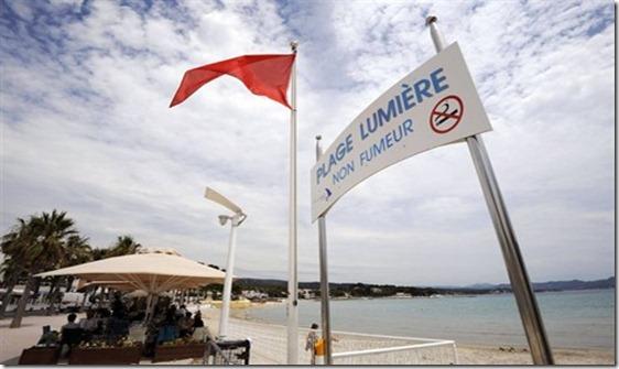La Ciotat une plage non-fumeur,