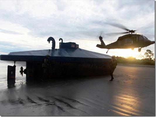 submarino colombia farc