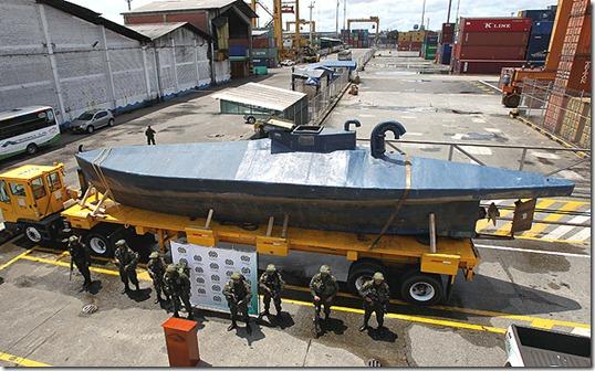 submarino farc