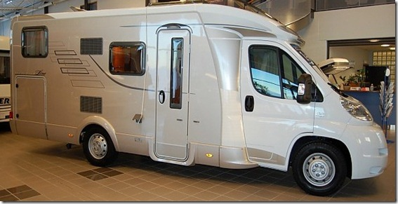 Hymer Tramp 674 CL - 2012 773.100 kr
