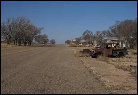glenrio texas route 55 ghost town