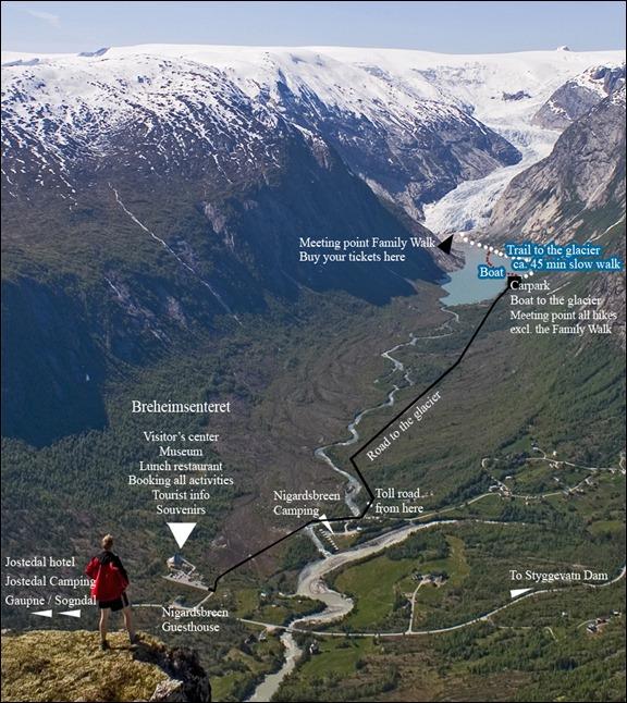Jostedal Glacier National Park-Jostedalsbreen-Sognefjord Norway
