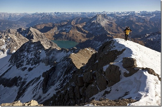Monte Schesaplana (Foto Arno Balzarini) AP