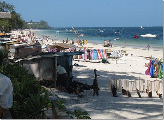 bamburi beach