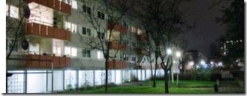 edificio donde estuvo la yugoslava encerrada
