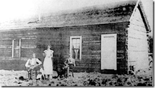 Butch Cassidy, Etta Place and the Sundance Kid in Cholila, Argentina