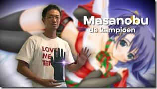 Masanobu Sato campeón del mundo mansturbación