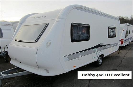 Hobby 460 Lu Excellent,  203.000 SEK