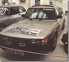 """Saab 900 Turbo """"Silver Beast"""