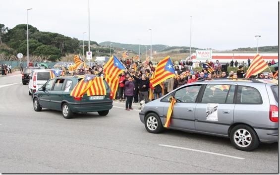 caravana independentista maresme