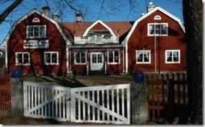 dalarna röda hus