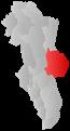 Municipio Trysil en el condado de Hedmark