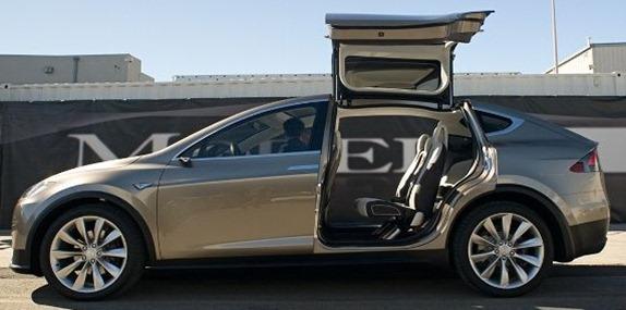 Tesla-Model-X-Side-Exterior-Gullwing-Open