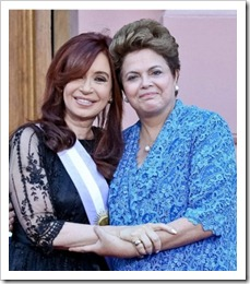 Cristina-Kirchner dilma rousseff