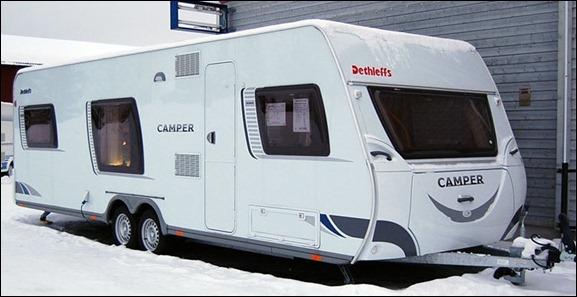 Dethleffs - Camper Dethleffs 740 TK---