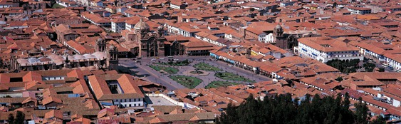 Plaza des Armas, Cuzco, Peru.
