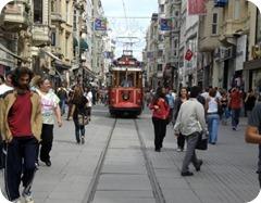 Taksim-tram-