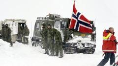 norska soldater kebnekaise