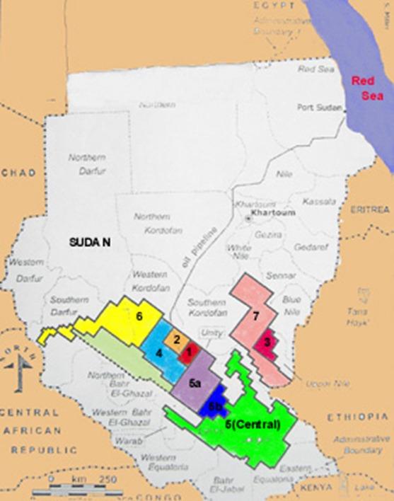 petroleo sudán