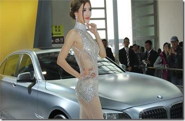 Li Yingzhi beijing motor show bmw