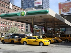 New York Taxi Gas Station