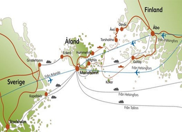 SVERIGE -ÅLAND- FIN