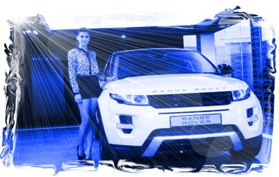 Nargis-Fakhri-evoque Women's World Car of the Year 2012.