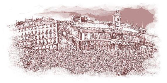 int Mov 15 M Puerta del Sol de Madrid-