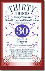 Glamour30ThingsBookCover