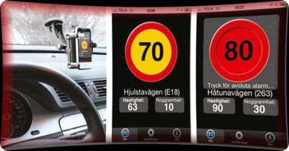 NTF app Rätt fart-