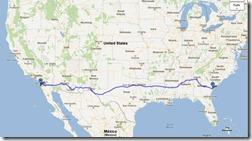 Roadtrip_sydstaterna u.s. route 80