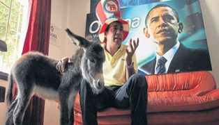burro de obama...