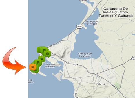 Hotel_Dann_Cartagena,_mapa