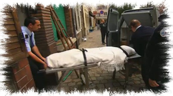 esqueleto del español muerto en Lille en 1996