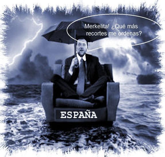 Rajoy esperando órdenes
