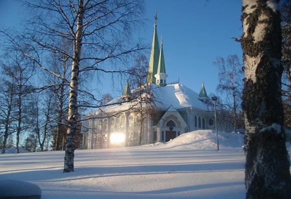 kyrka Jokkmokk