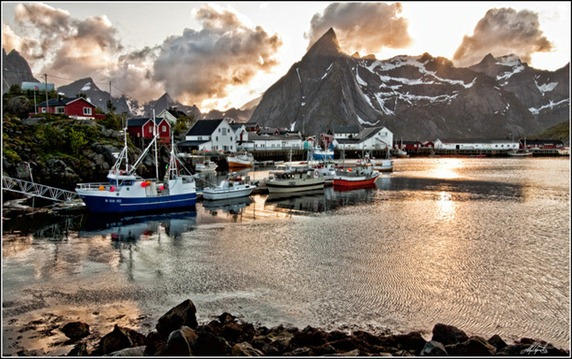 Hamnøya, Lofoten