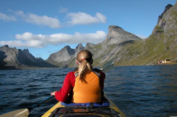 Reinefjorden.