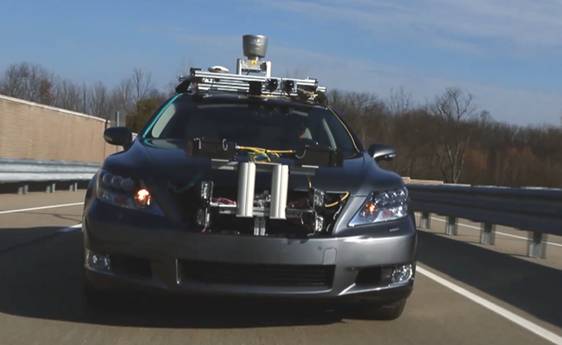 toyota self-driving-car-lexus
