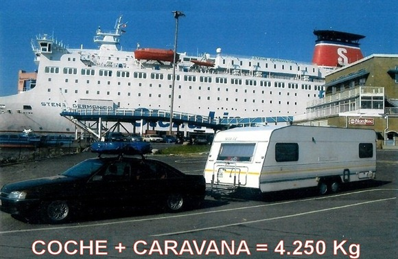 KNAUS SÜDWIND 590 TK 1989 -STENA LINE--