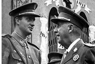Juan Carlos de Borbón - Franco