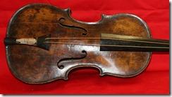 Titanic bandmaster Wallace Hartley's violin