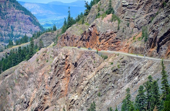 Carretera a Ouray