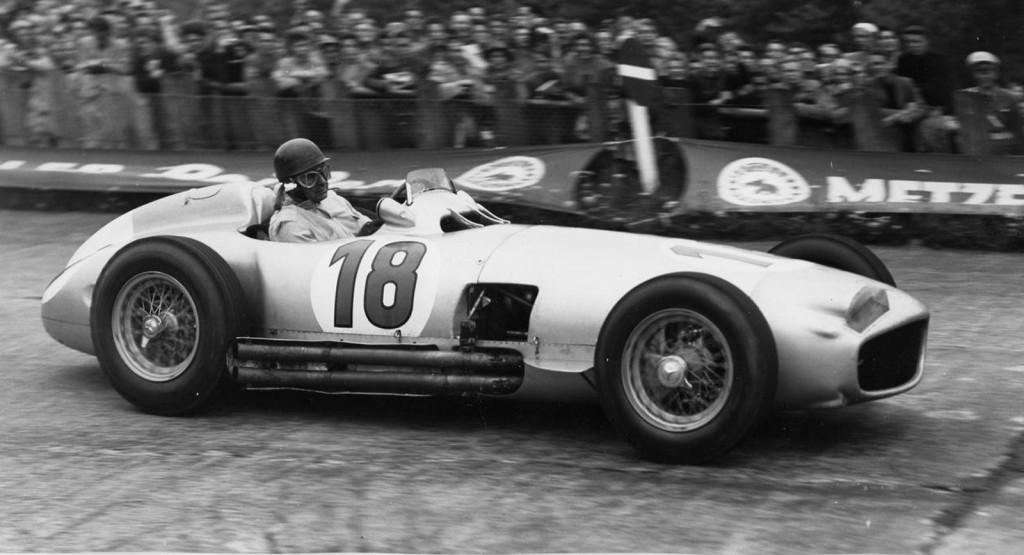 MB-w196-1954 - Conducido por Juan Manuel Fangio