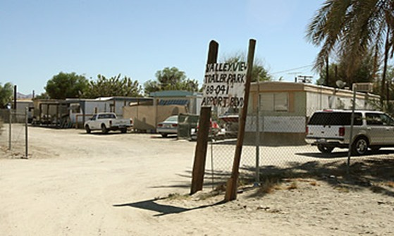 Trailer park -Thermal, Calif.