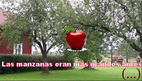 las_manzanas...