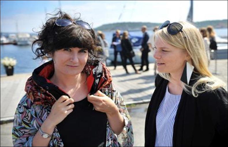 Anna Haupt (izquierda) y Terese Alstin (derecha)