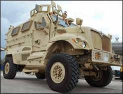 Miami Gardens PD MRAP at GTBS 2nd Oct 2013
