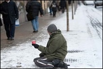 Tiggare (mendigo), Estocolmo)